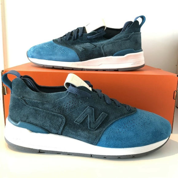 salir ajustar Ordinario  New Balance Shoes | New Balance 997r Made In Usa M997du2 Blue Suede |  Poshmark